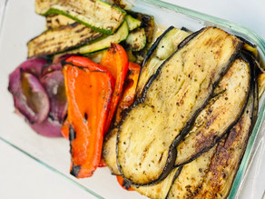 Greek Style Grilled Vegetables
