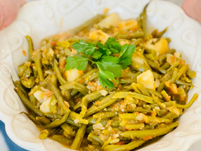 Fasolakia | Easy and Delicious Braised String Beans