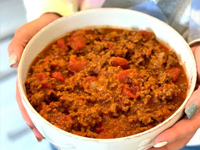 Nickolas' Favorite Beef Chili
