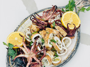 Grilled Calamari the same way as they do it in Greece