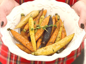 Roasted Carrots with Fresh Thyme