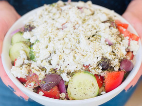 Delicious Traditional Greek Salad Horiatiki Salad