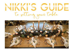 Nikki's Guide to Setting Your Table