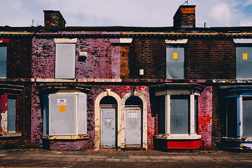Boarded Up Homes, Toxteth