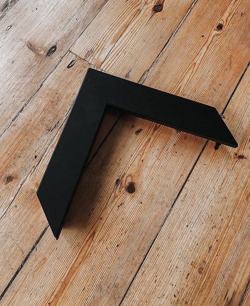 Thick Black Wooden Frame