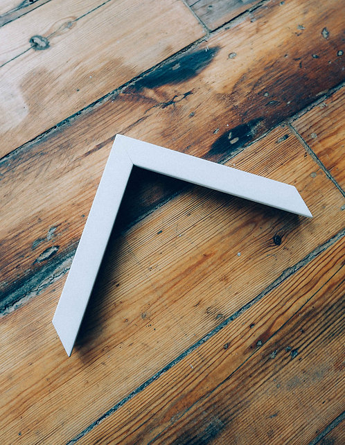 Thin White Wooden Frame
