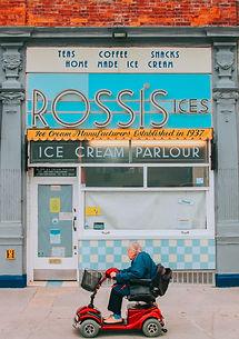 CJV002 Rossis Ice Cream White Thick Fram