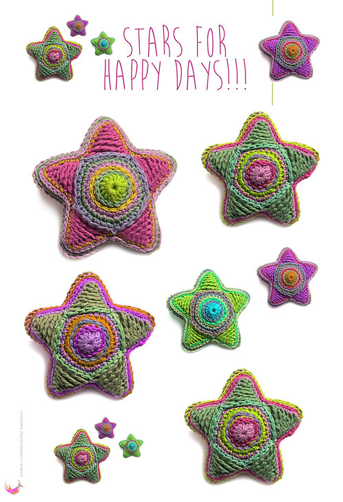 stars 3d for happy days (estrapolato da art-book n. 3)