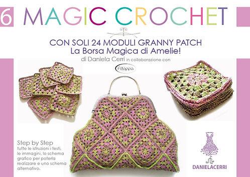 manuale n 6 magic crochet la borsa magica di amelie