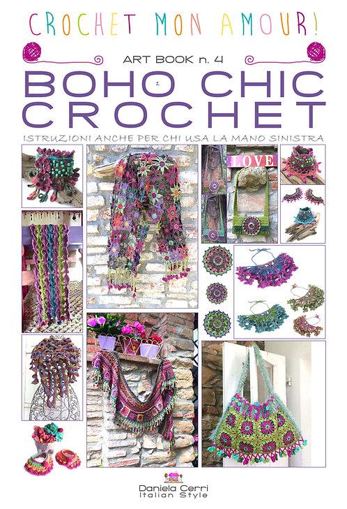 art book 4 boho chic crochet