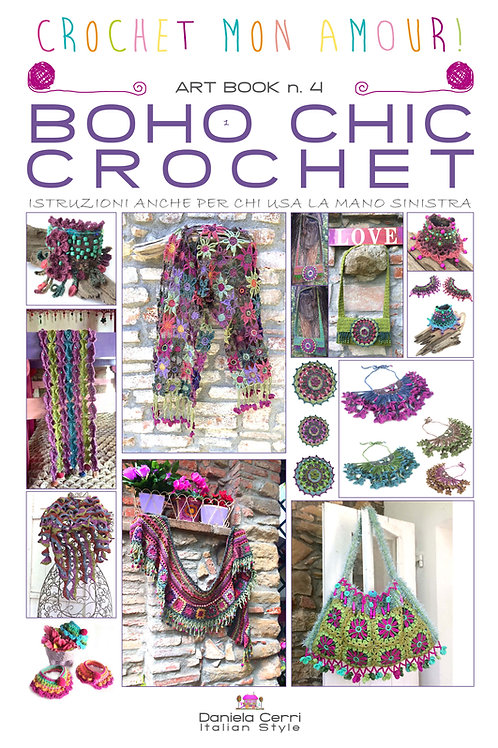 Art-Book n. 4: BOHO CHIC CROCHET