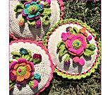 Soft  f Pillow Flower By Danielacerricro