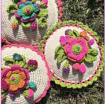 Soft Pillow con chewingum flower