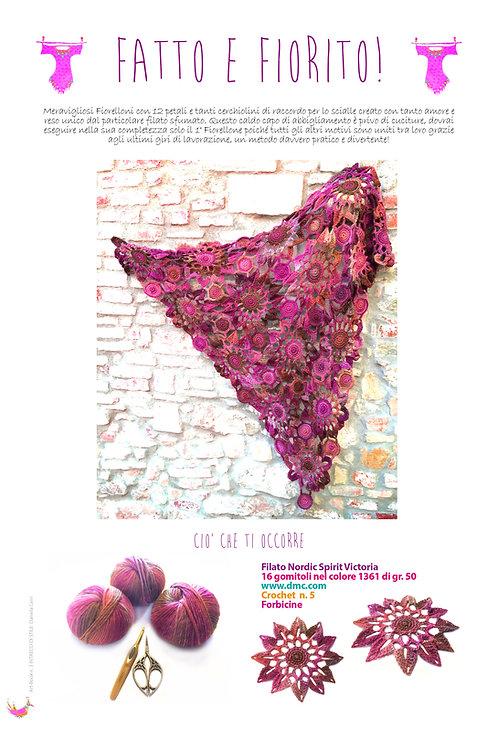 scialle fatto e fiorito estrapolato da Art-Book n. 3