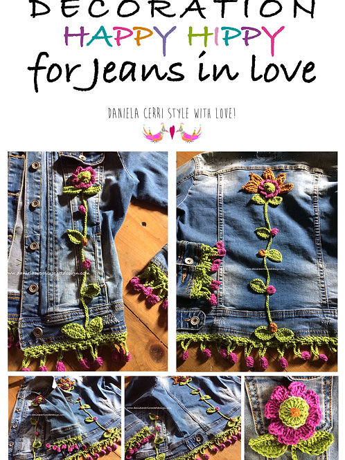 Decorazione Happy Hippy For your jeans (PDF)