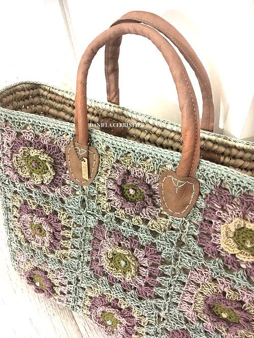 """Bag """"Sea&Shop"""" Granny Patch"""