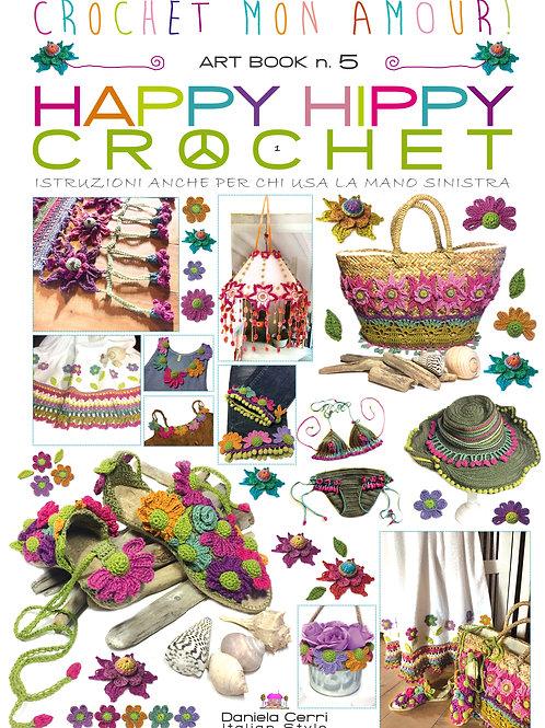 art book n 5 happy hippy crochet