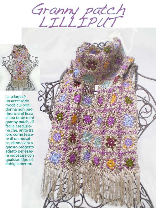 sciarpa granny lilliput