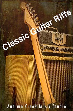 Classic Guitar Riffs template with ACM l