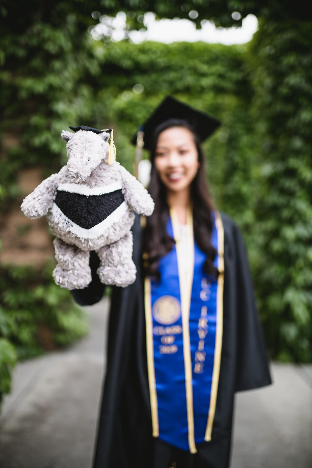 UCI Graduation Photos | School of Continuing Education | Peter the Anteater