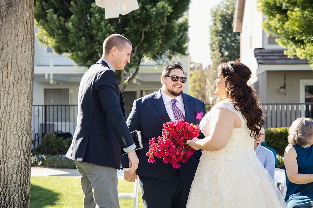 Orange County Backyard Wedding   Lauren and Nick 7