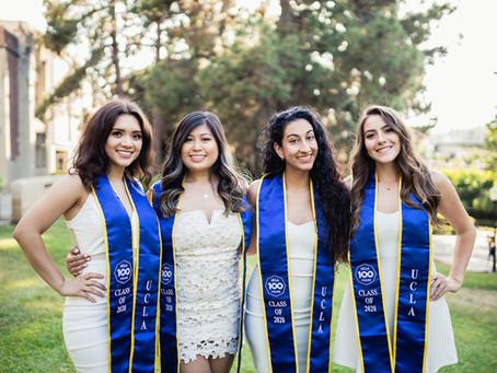Jocelyn, Dominique, Marina, Joanna, and Nicole | UCLA Graduation Photos