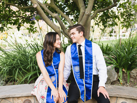 UCI Graduation Pictures | Coryn and Brad
