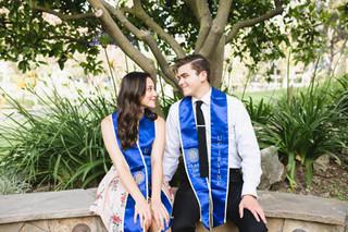 UCI Graduation Photos Aldrich Park Hill