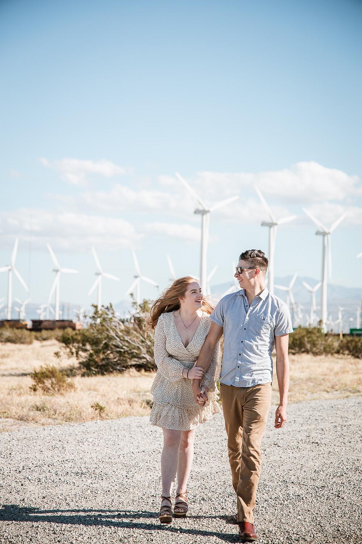 Palm Springs Engagement Photos | Delanie and Kai 26