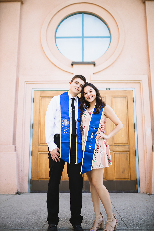 UCI Graduation Photo at Art School