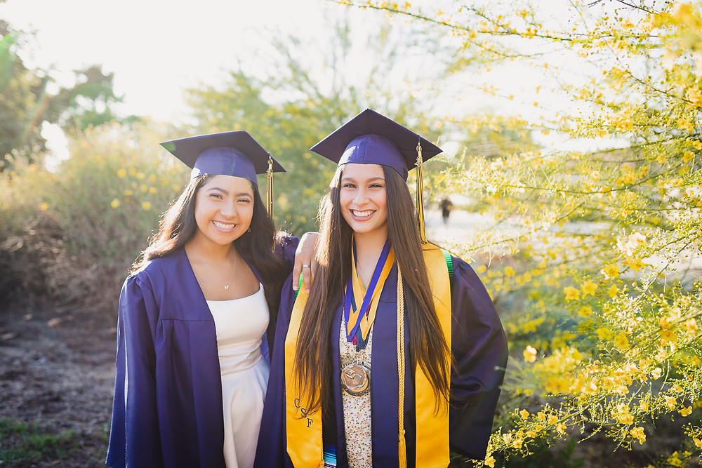 California High School Senior Photos | Zoie and Mariah 11