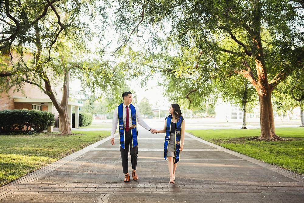 UCR Graduation Photos  | Marcus and Cindy 8