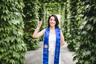 UCI Graduation Photos MSTB Green Arches