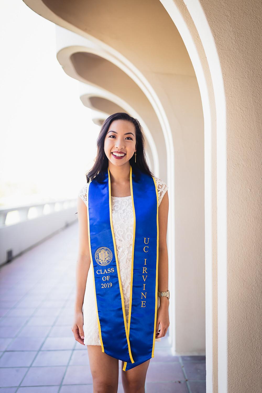 UCI Graduation Photos | Social Science Plaza | Lexie