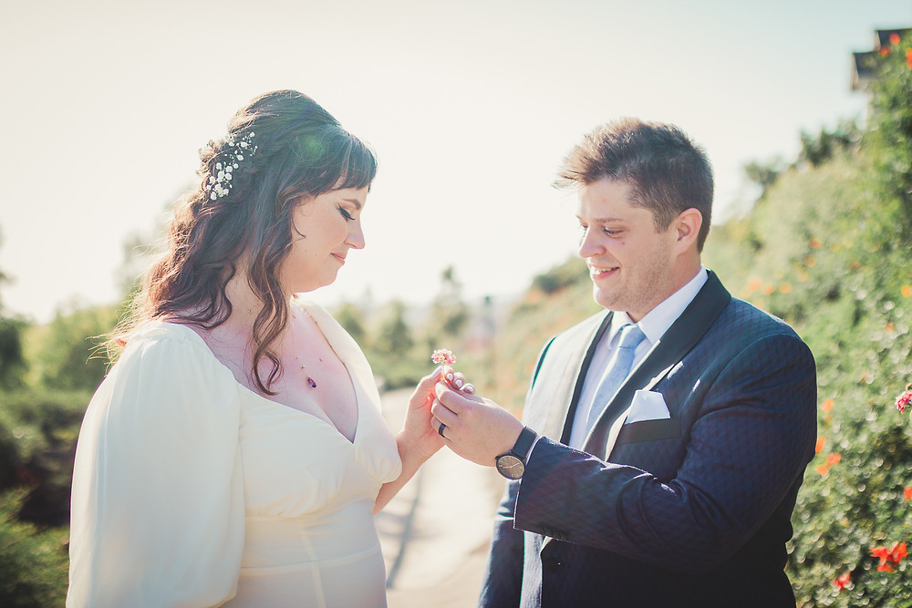 Backyard Wedding at San Clemente