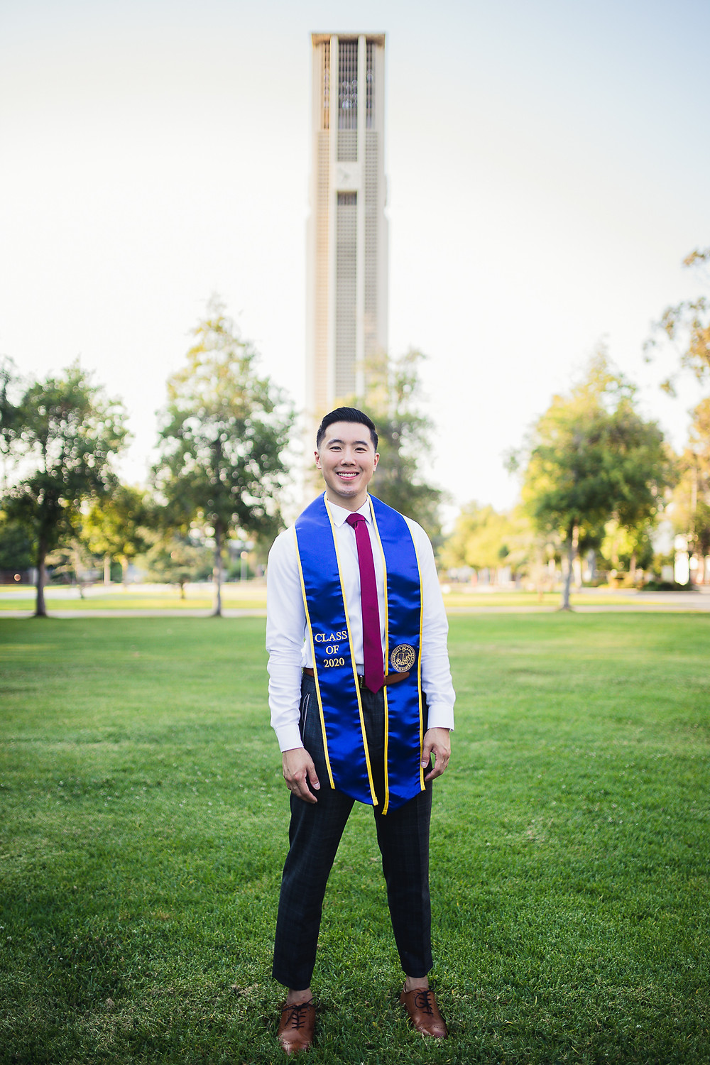 UCR Graduation Photos Bell Tower | Marcus and Cindy 15