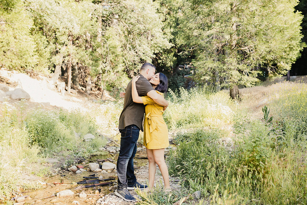 Victoria and Franky | Lake Arrowhead Maternity + Couple Session