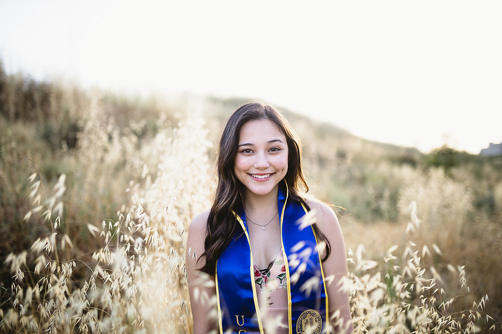 UCI Graduation Photos at Wheat Fields