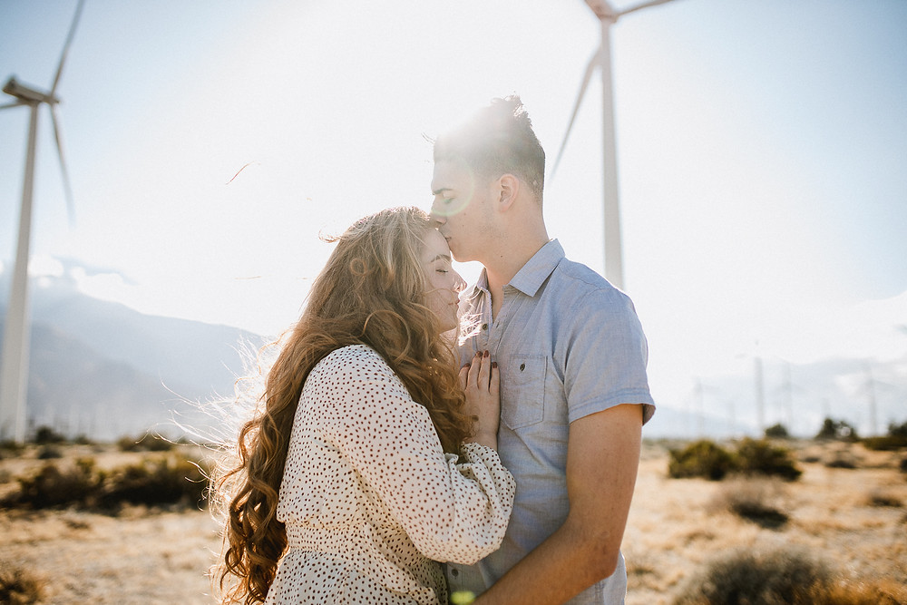 Palm Springs Engagement Photos | Delanie and Kai 9