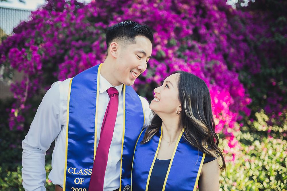 UCR Graduation Photos | Marcus and Cindy 1