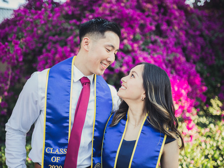 UC Riverside Graduation Photos | Marcus and Cindy