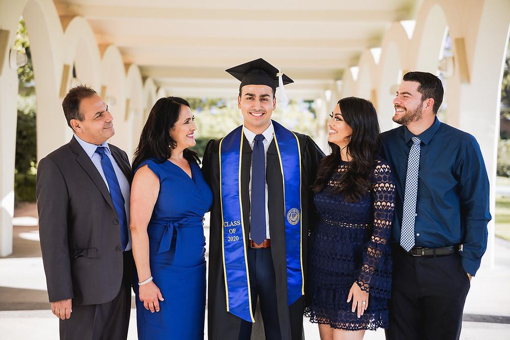 University of California Riverside Family Session | Matthew 5