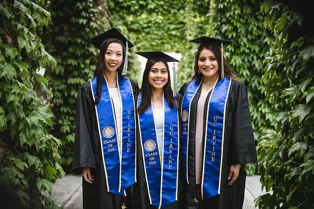 UCI Graduation Photos   MSTB   Lexie,Miranda,Brooke