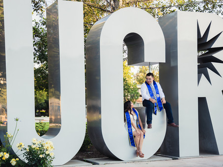University of California Riverside Couples Session | Kassandra and Angel