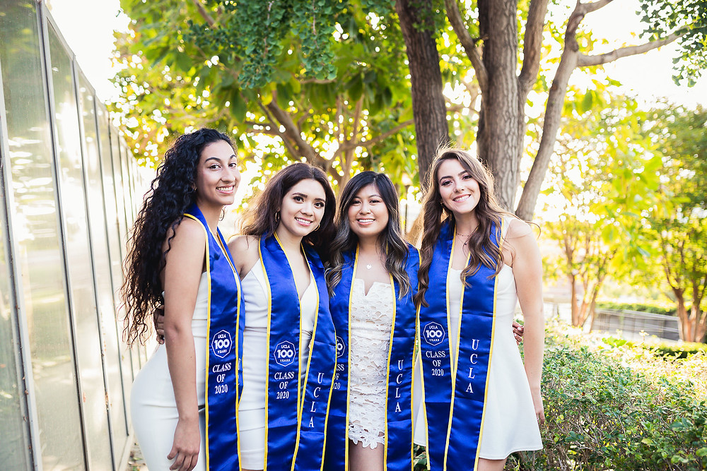 Jocelyn, Dominique, Marina, Joanna, and Nicole | UCLA Graduation Photos