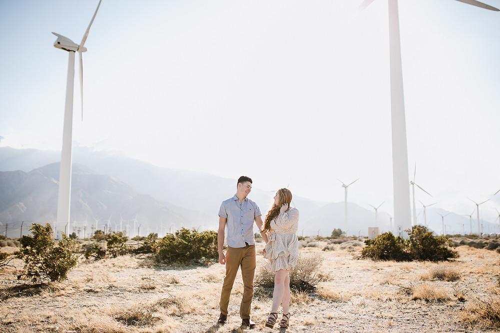 Palm Springs Engagement Photos | Delanie and Kai 4