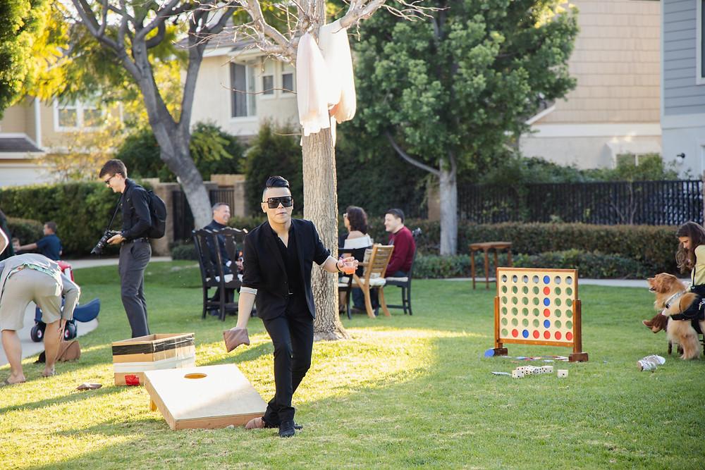 Orange County Backyard Wedding   Lauren and Nick 17