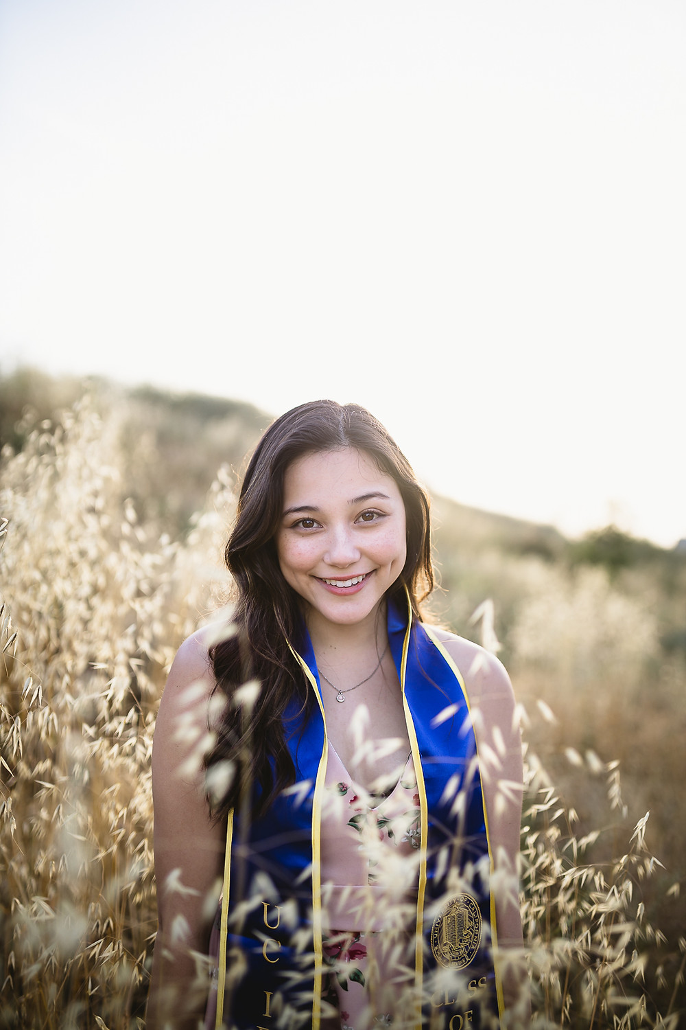 UCI Graduation Photos at Wheat Fields 2