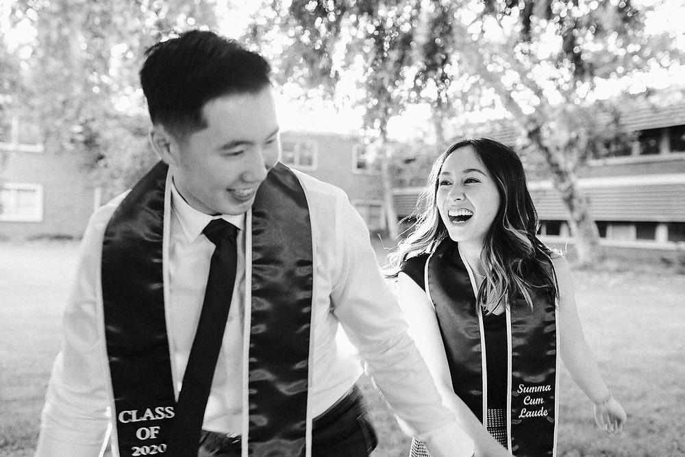 UCR Graduation Photos  | Marcus and Cindy 11