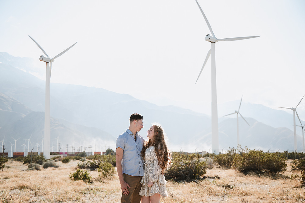Palm Springs Engagement Photos | Delanie and Kai 30